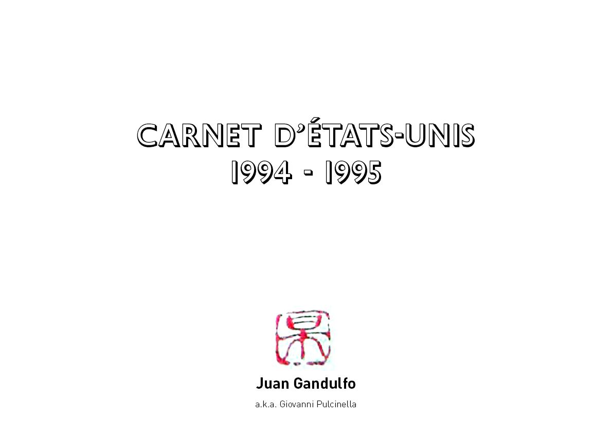 Gandulfo_1995_Carnet d'Etats Unis