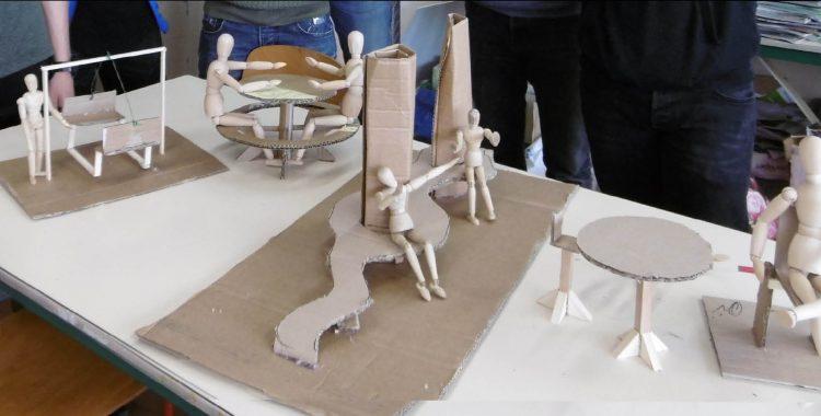 Maquettes du mobilier